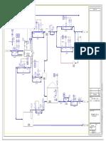Diagrama p&Id Tratamiento de Gas y Condensado