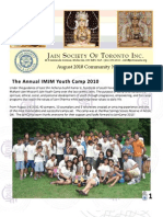 JSOT INC August 2010 Community Newsletter