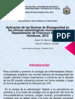 Aplicacion Normas Bioseguridad Honduras