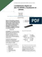 Diseño de Multímetro Digital con Microcontrolador Pic18f4550 y visualización en Labview.