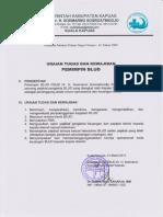 Uraian Tugas Dan Kewajiban Pemimpin, Pejabat Teknis Dan Pejabat Keuangan BLUD