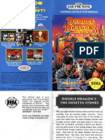 Double Dragon 3 - Manual - GEN