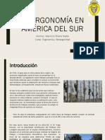 La Ergonomía en América Del Sur
