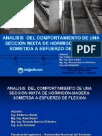 Analisis  del comportamiento de una sección mixta de Hormigón-Madera sometida a esfuerzo de Flexion CivilGeeks.pdf