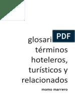Hosteltur Glosario de Terminos Hoteleros Turisticos y Relacionados
