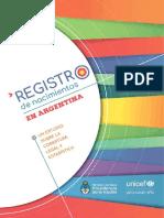 Monitoreo InformeRregistroNnacimientos UNICEF MSAL2017