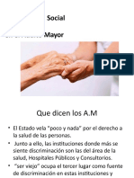 Problemática Social Del Adulto Mayor