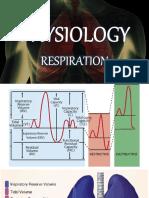 Physiology - Respiratory