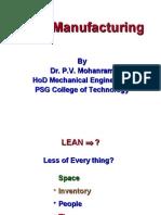Lean Manufacturing-VSM[1] PSG