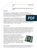 7218554 Dual Processor vs Dual Core