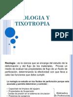 Reologia y Tixotropia