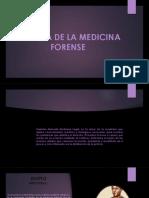 Historia de La Medicina Forense 7º Derecho