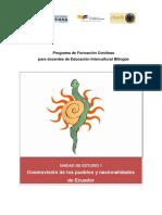 Guia-Cosmovisión Pueblos y Nacionalidades de Ecuador