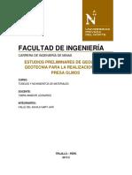 Informe Tecnico Tuneles y Movimiento de Materiales