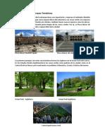 Áreas Verdes Y Parques Temáticos