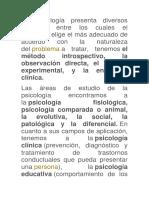 La Psicología Presenta Diversos Métodos