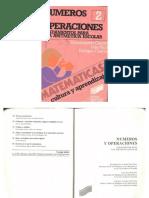 Numeros y Operaciones Editorial Sintesis