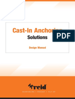 Reid Cast-In Anchoring Solutions Design Manual