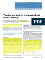 Vesicles as a Tool for Transdermal and Dermal Delivery.pdf