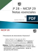 NICSP28- NICSP29 Notas Esenciales