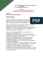 Estatuto Dos Funcionários Públicos Civis Do Estado Da Paraíb1