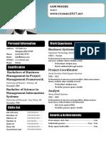 Resume Template 52