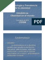 EPIDEMIOLOGIA Obesidad 2010