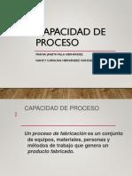Capacidad de Proceso - Frania Villa y Carolina Hernandez