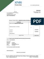 Invoice SAF-1718-021 JBM July 2017