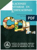 Instalaciones sanitarias en edificaciones. Ing. Enrique Jimeno Blasco.pdf
