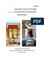 Cover Pages M&E Manual