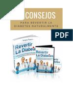10 Consejos Sobre Cómo Revertir La Diabetes Naturalmente