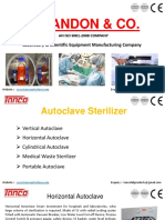 Autoclave Sterilizer by Tanco