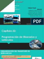 Capitulo 23 - Programacion de Itinerario y Vehiculos