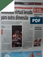 Destak - Realidade Virtual Levada Para Outra Dimensao