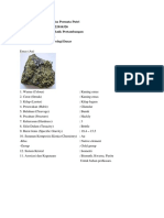 Tugas Deskripsi Mineral