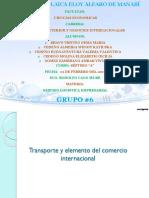Capitulo 27 - Transporte y Elementos Del Comercio Internacional