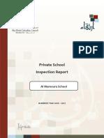 ADEC - Al Mamoura School 2016-2017