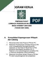 Ppt Program Kerja 2007-2009