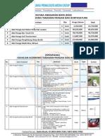 Alat Praktikum SMK Keahlian Agribisnis Tanaman Pangan Dan Hortikultura-2018