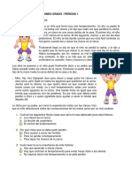 2 EXAMEN Español - Segundo I