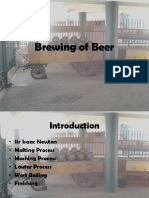 Brewing of Beer Lauter Process Edited