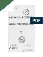 _C.I.Brătianu_Razboiul economic si îndrumări pentru viitorul nostru