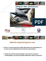 Systematique Poissons