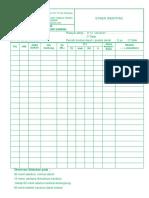 Form Monitoring Transfusi Darah