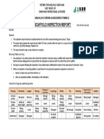 Scaffold Inspection Register
