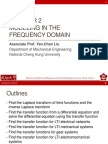 Ch2 Modeling in Frequency Domain