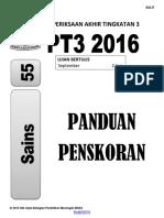 Skema Trial PT3 Sains MRSM 2016