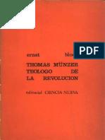 Bloch - Tomas Munzer Teologo de la Revolucion.pdf