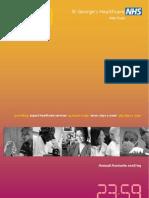 Annual Report 2008-2009 Accounts